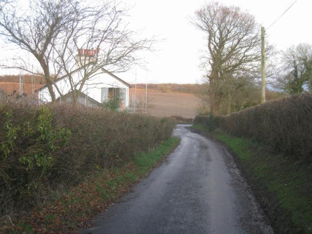 Lane by Breach Farm cottages