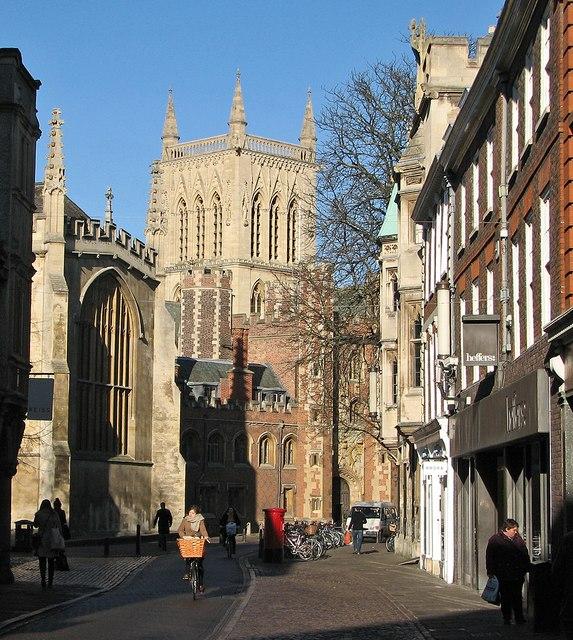 Trinity Street in January