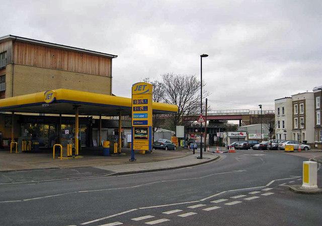 Petrol station, Brixton