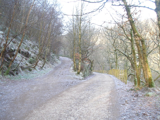 Parting of the ways in Colden Clough