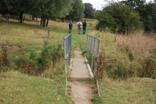 Footbridge, Medway Valley Walk