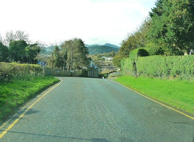 The entrance to Rockcliffe car park