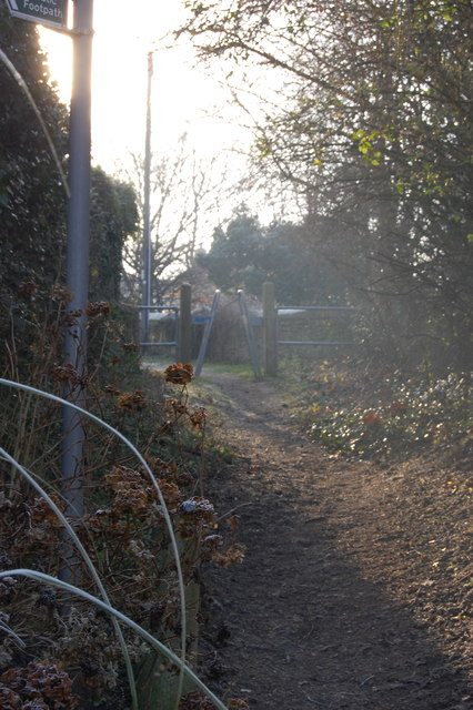 Path Ivyside Gardens to High Street