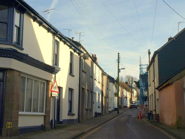Exeter Street, North Tawton