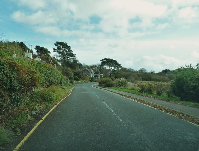 The road along the sea front