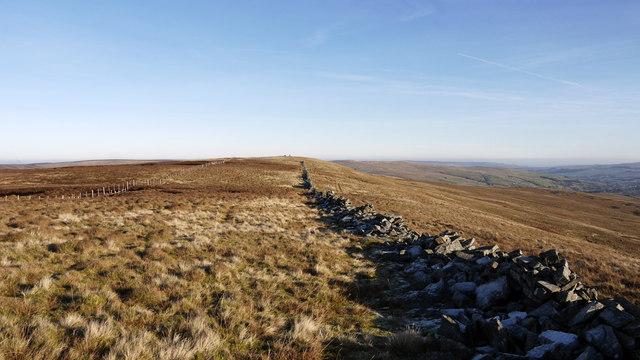 Moorland west of Highwatch Currick