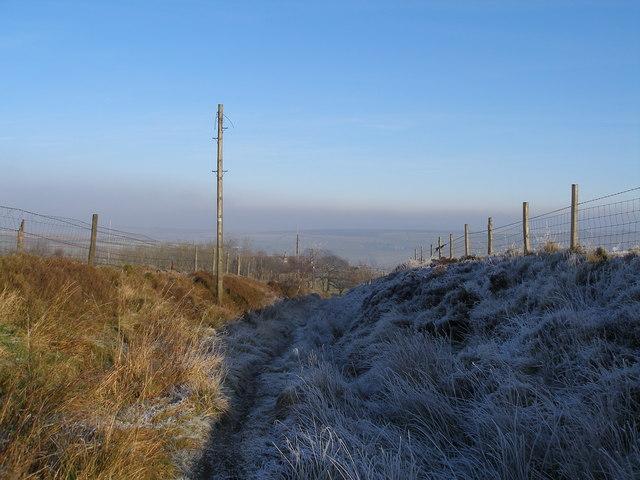 Bridleway to Strines Clough