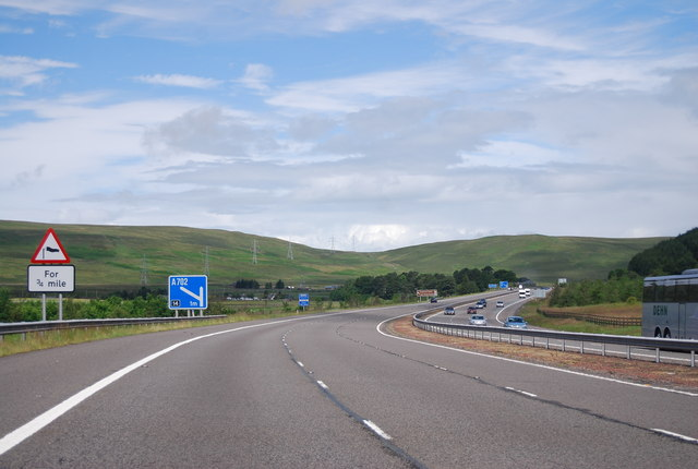 A74(M) south of Junction 14