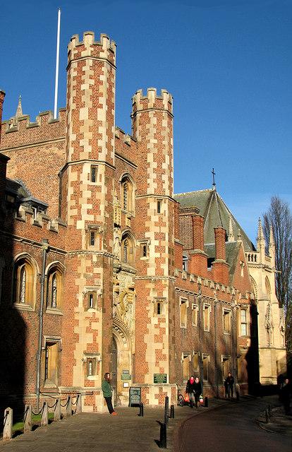 St John's College Gatehouse