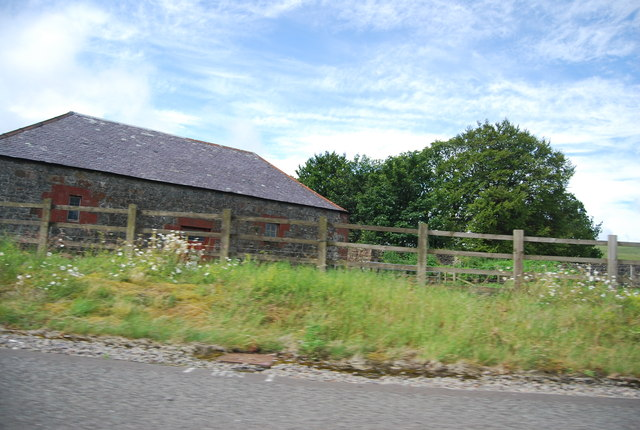 Building by the A74(M)