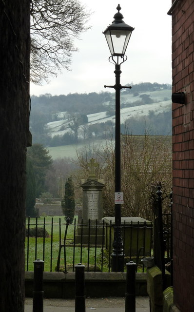 Passage to the churchyard, Wirksworth