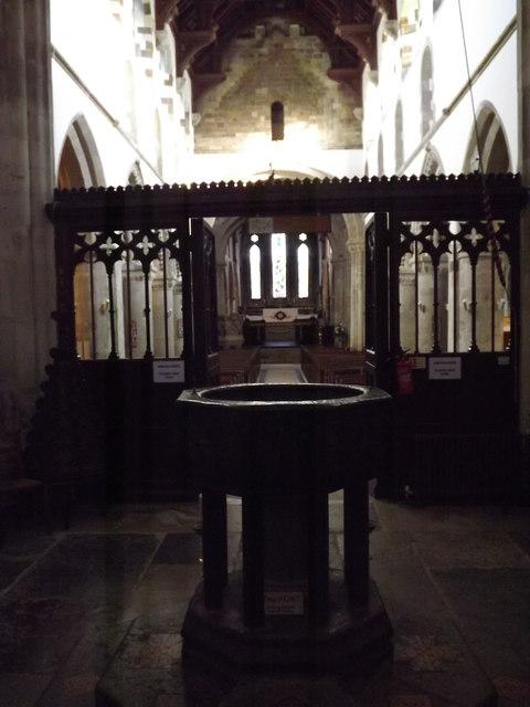 Font, Wimborne Minster