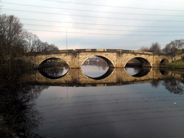 Old Great North Road Bridge at Ferrybridge