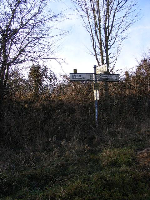 Roadsign on Christmas Lane