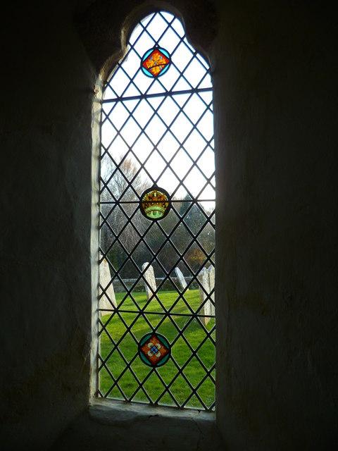 Window in Itchenor church