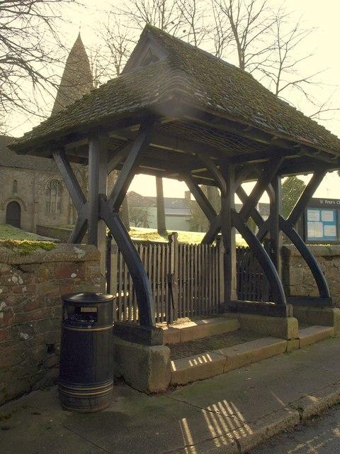 Lych gate, North Tawton