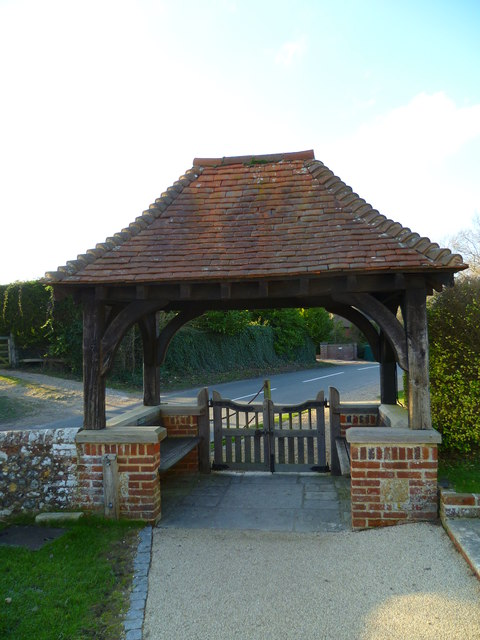 Lych gate (and picnic spot) at Itchenor