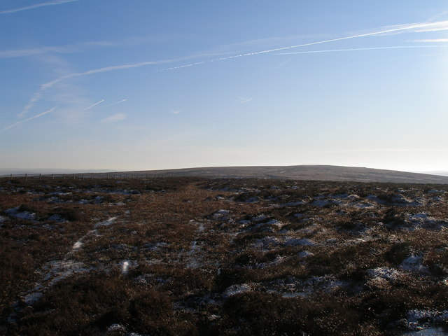 Black Hameldon towards Hoof Stones Height