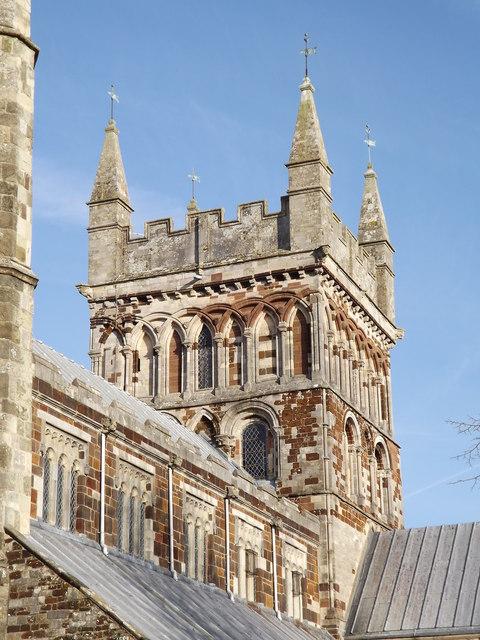 Wimborne Minster, Central Tower