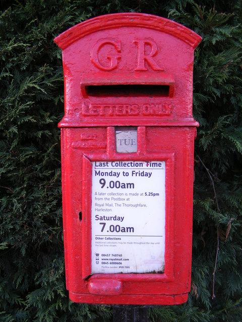 Marsh George V Postbox