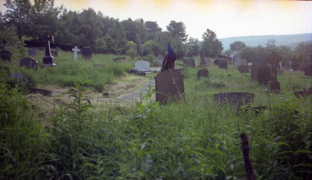 Grave Yard behind St. James church
