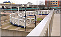 J3474 : The Lagan weir footbridge, Belfast (3) by Albert Bridge