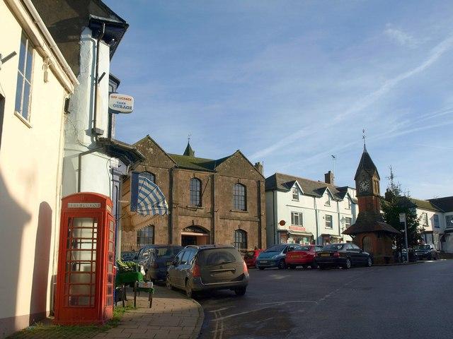 The Square, North Tawton