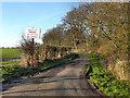 SJ7685 : Ashley Mill Lane by David Dixon