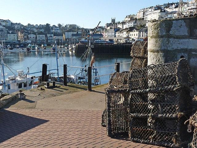 Fishing pots, Brixham Harbour