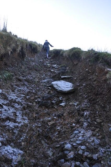 Exmoor : Uphill Path