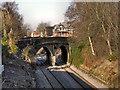 SJ7785 : Ashley Road Bridge by David Dixon