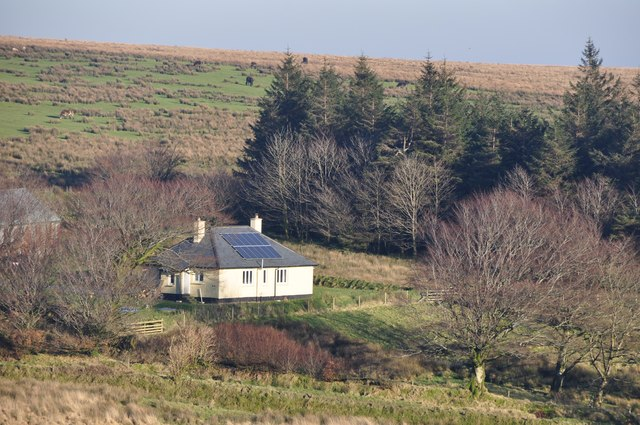 Exmoor : Bungalow at Blackpitts Gate