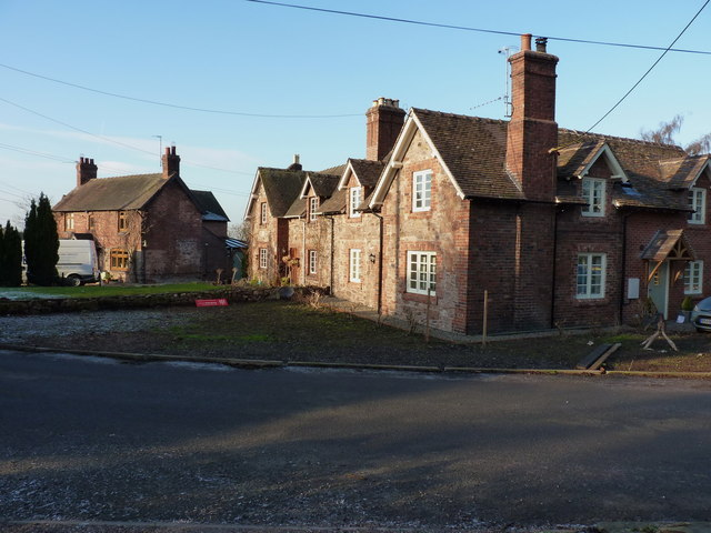 Cottages in Lilleshall