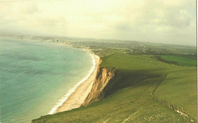 Sandown Bay in 1988