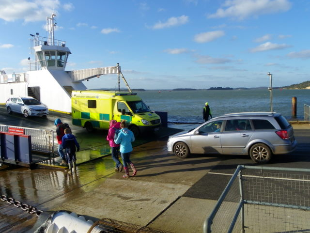Ambulance, Sandbanks