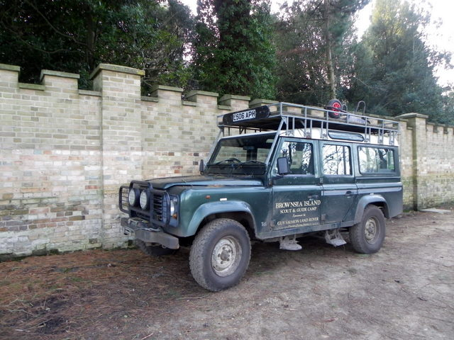 Scout and Guide Land Rover