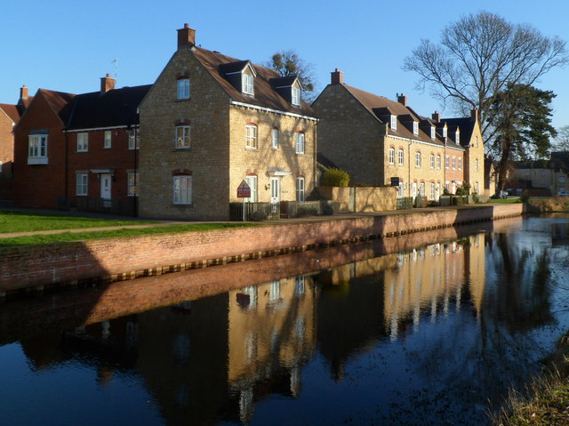 Canal reflections, Ebley