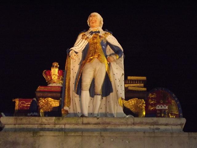 King George III Statue, Weymouth