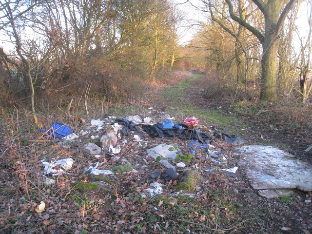 Fly-tipping on Fowdall Lane