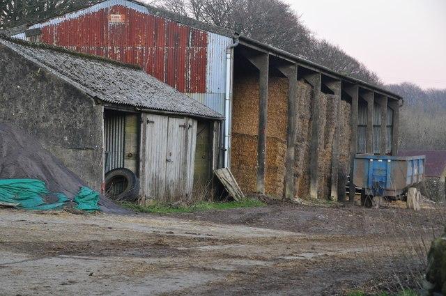 Exmoor : Farmyard Barn