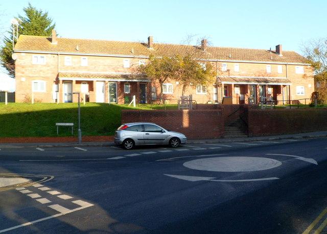 Westward Road flats, Ebley