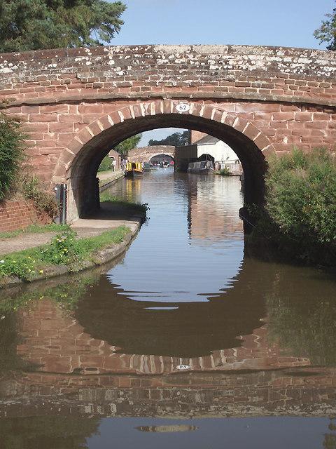 Newcastle Road Bridge in Market Drayton, Shropshire