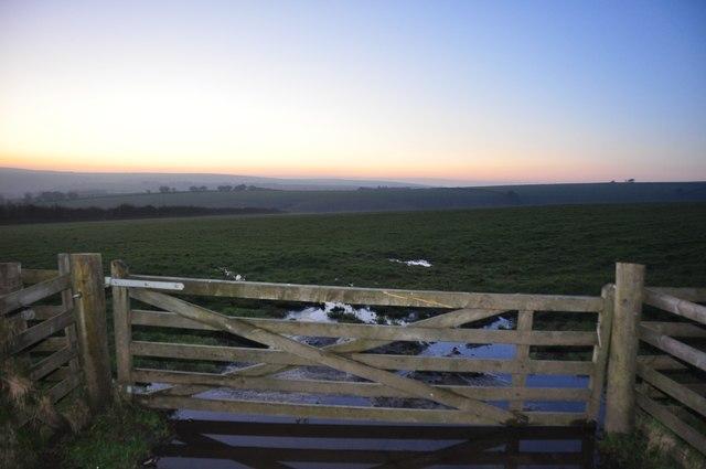 Exmoor : Gate & Field
