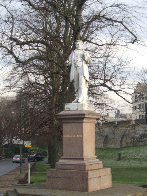 George Leeman Statue