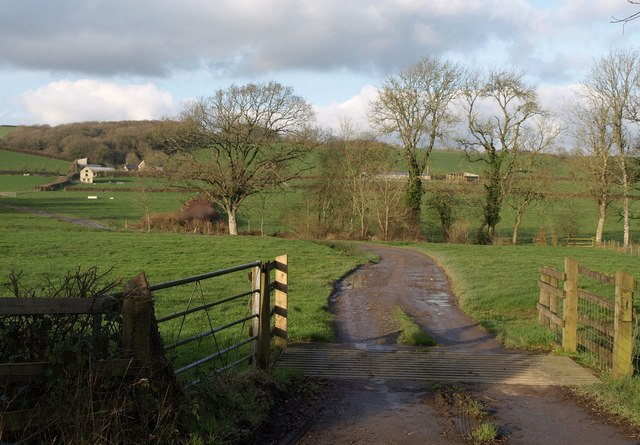 Track to Park Farm