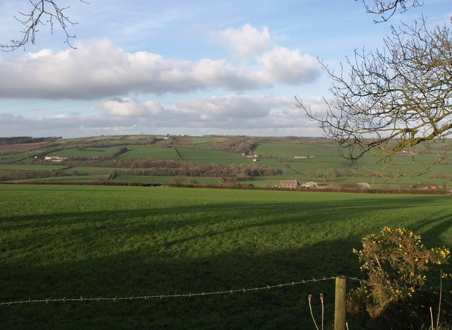 View towards Stabdon Farm