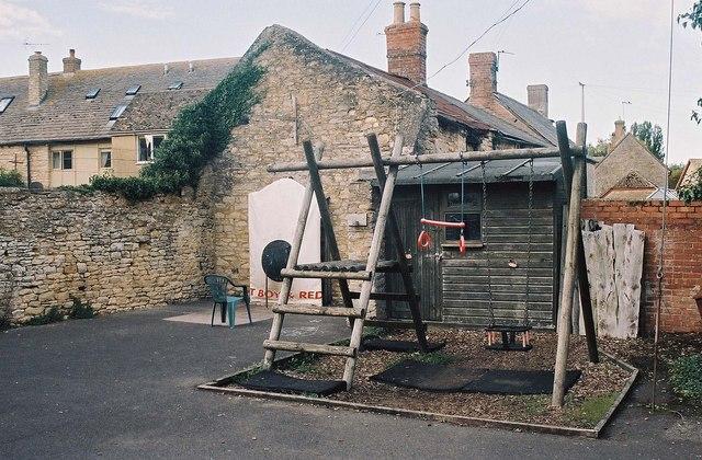 The Bell Inn (3) - play area, 21 Standlake Road, Ducklington