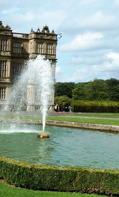 Fountain at Longleat House