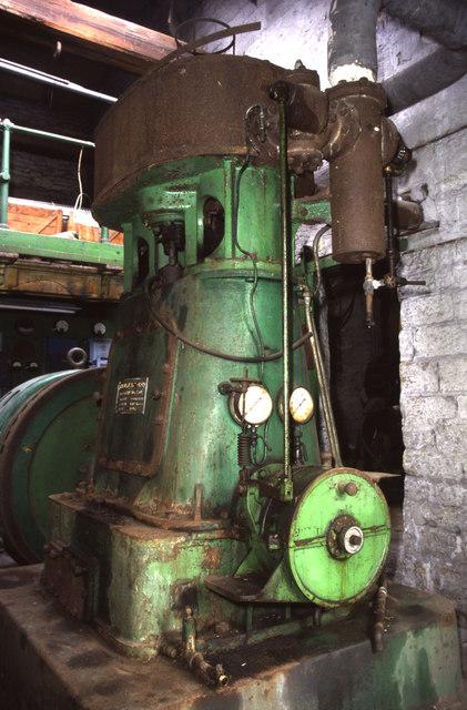 Wildspur Mills - steam engine