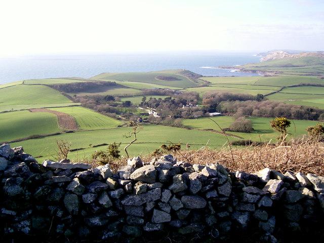 Swyre Head looking west